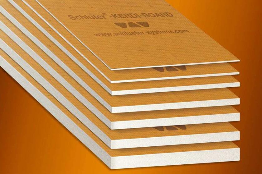 Schluter - Bases de aplicação de tijoleira